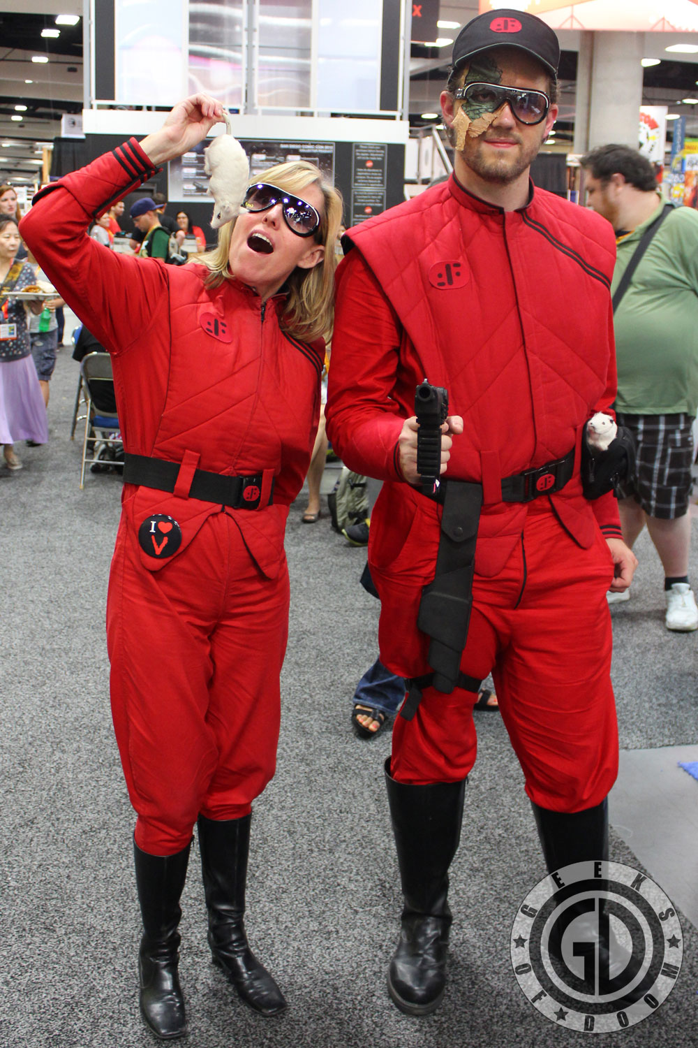 SDCC 2012: Cosplay Round-Up: V: The Final Battle