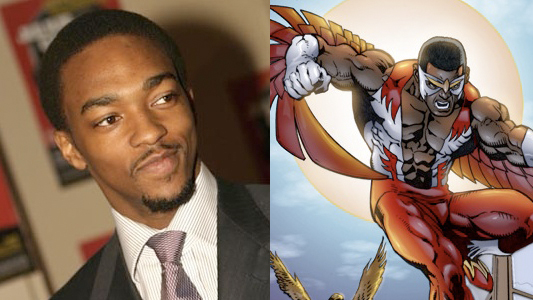 Anthony Mackie In Talks To Play As Falcon