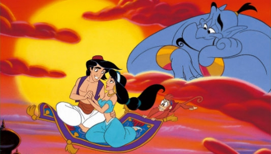 Aladdin characters & Must See: Aladdin On His Magic Carpet Costume (Video)