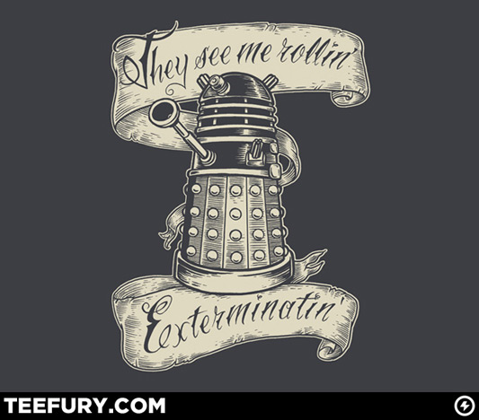 Doctor Who They Hatin Shirt