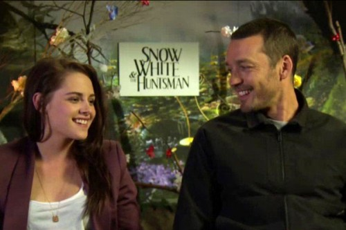 Kristen Stewart and Rupert Sanders Snow White and the Huntsman