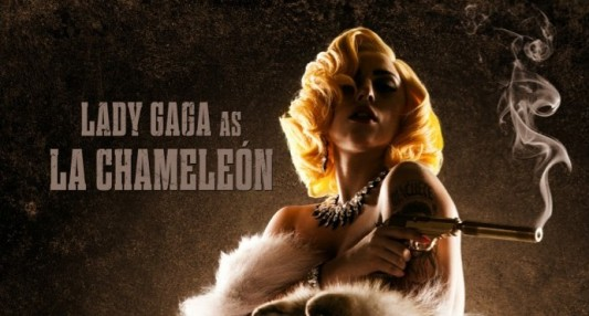 Lady Gaga Machete Kills Banner
