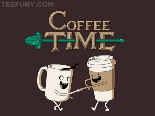 Adventure Time Coffee Time! Shirt