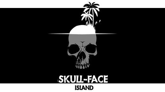Skull-Face Island Banner