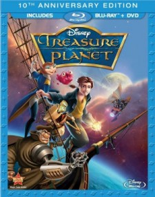 Treasure Planet Blu-ray cover