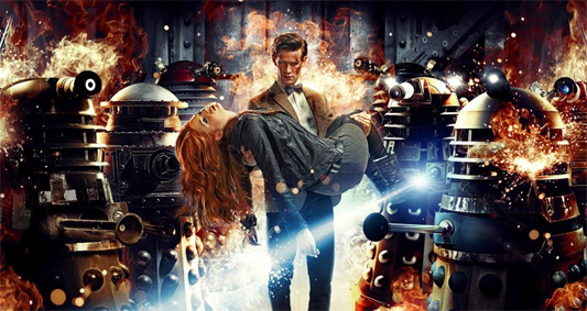 Doctor Who Series 7 - New Trailer and New Image