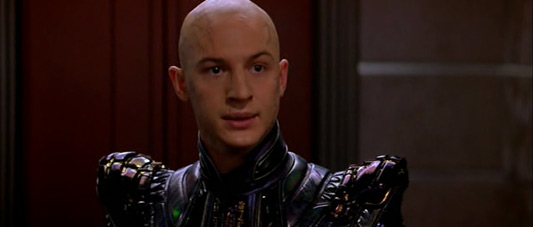 Tom Hardy as Shinzon in Star Trek: Nemesis