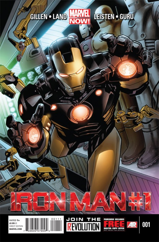 Iron Man #1 Preview
