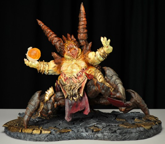 Diablo 3 Azmodan Lord of Sin sculpture by Jason Babler