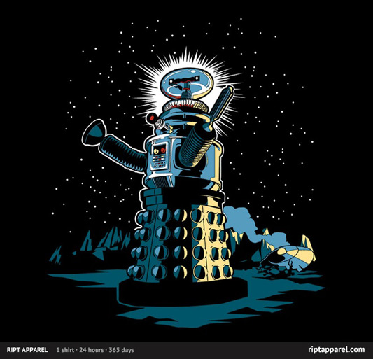 Doctor Who Lost In Space Exterminate the Robinsons Shirt