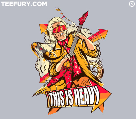 Back To The Future This is Heavy Shirt