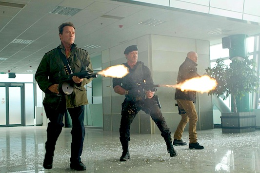 The Expendables 2: The Big Three