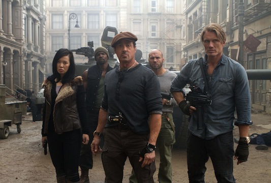 The Expendables 2 Roster