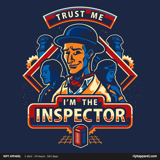 Community Inspector Spacetime Trust The Inspector Shirt
