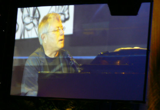 Alan Menken plays a collection of his music on the piano.