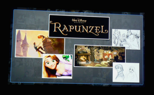 "Menken played tunes from ""Tangled,"" originally titled as ""Rapunzel."""