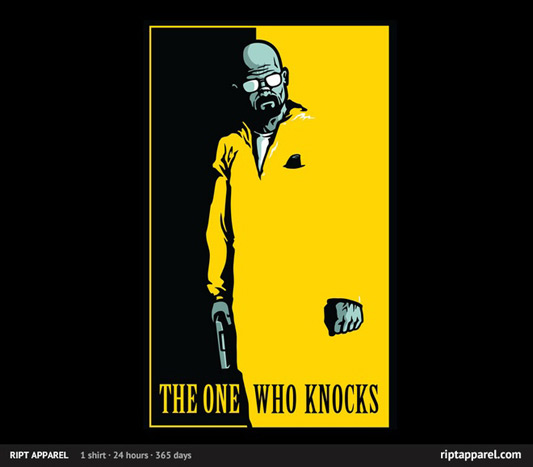 Breaking Bad The One Who Knocks Shirt