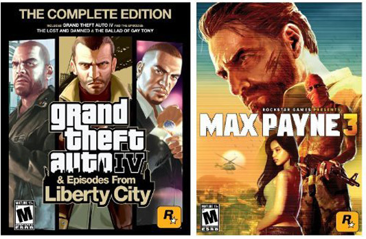 Grand Theft Auto IV: The Complete Edition and Max Payne 3 Bundle