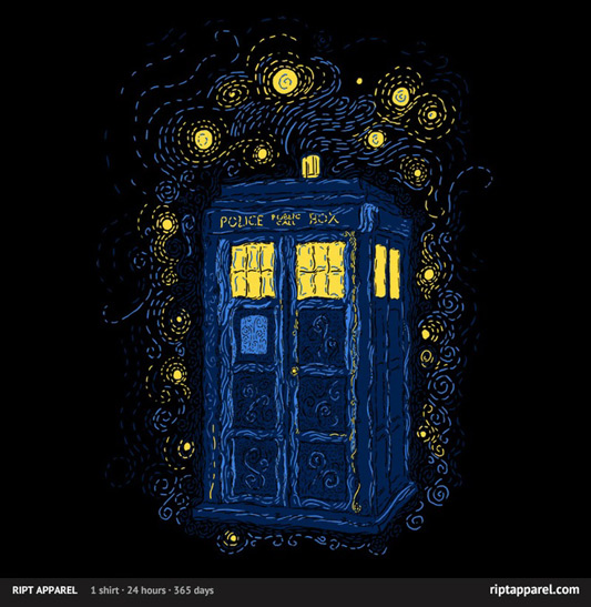 Doctor Who Space Time Impressionism Shirt