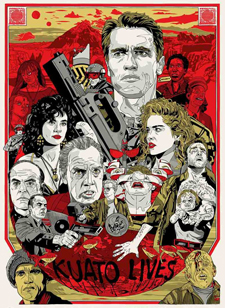 Total Recall: Stout poster
