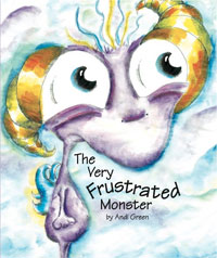 The Very Frustrated Monster cover