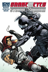 Snake Eyes and Storm Shadow #16