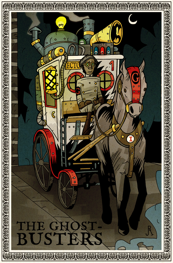 Ghostbusters Steampunk 02