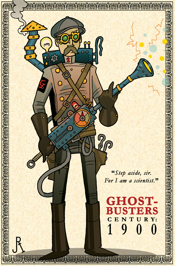 Ghostbusters Steampunk 03
