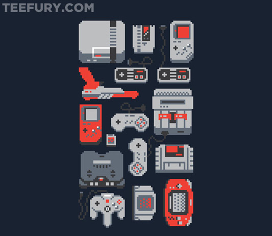 Classic Video Game NEStalgia Shirt