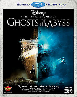 """Ghosts of the Abyss"" Blu-ray cover"