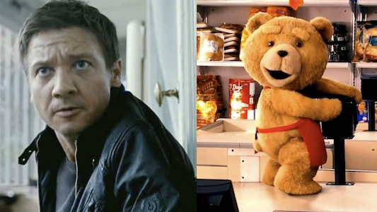 Bourne and Ted Header