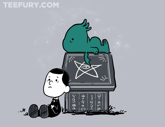 Peanuts H.P. Lovecraft Call of Snoophulhu Shirt