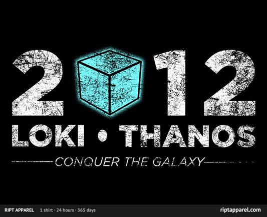 Loki - Thanos 2012 - Support The Gauntlet Party Shirt