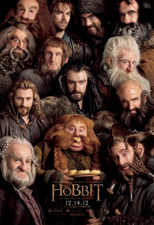 The Hobbit: An Unexpected Journey: The Dwarves poster