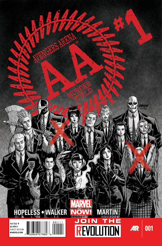 Avengers Arena 01 Cover