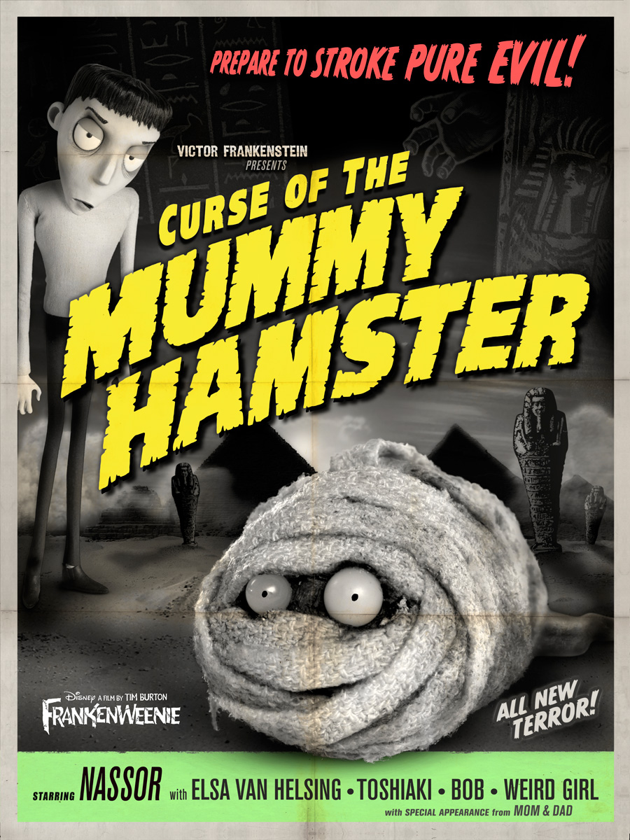 curse of the mummy hamster
