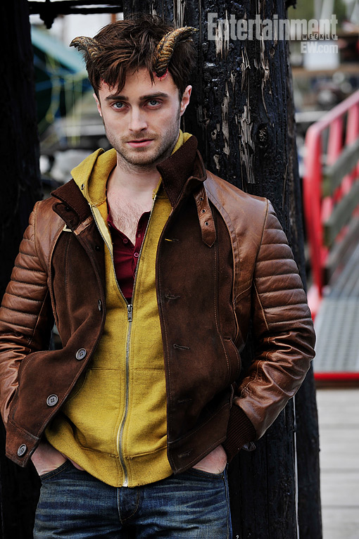 Daniel Radcliffe In Horns Image