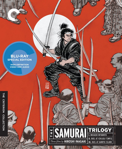 The Samurai Trilogy blu-ray