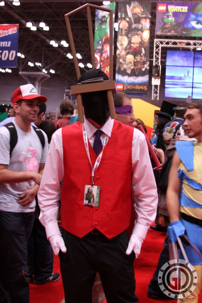 NYCC 2012: Chairface Chippendale