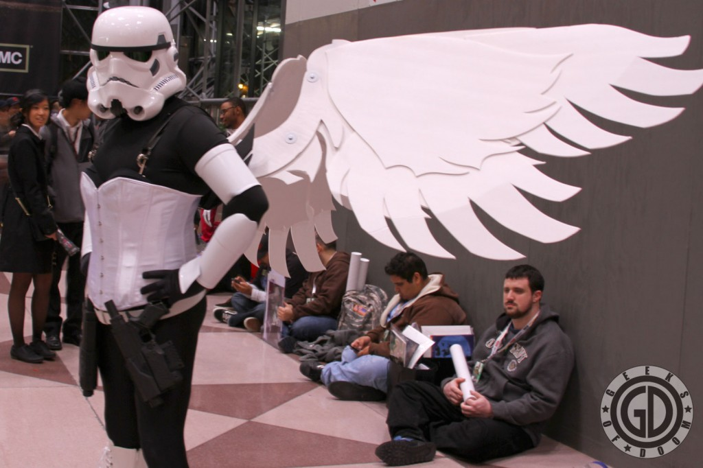 NYCC 2012: Corset wearing Stormtrooper with Wings