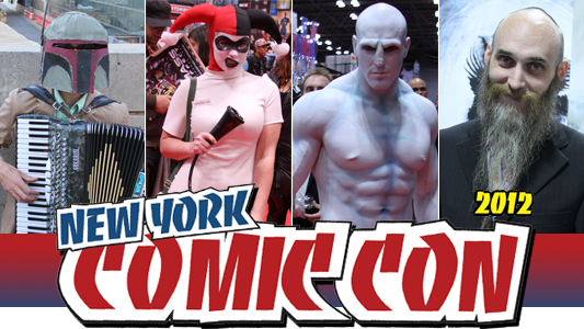 NYCC 2012: Photo Gallery banner