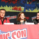 NYCC 2012: Evil Dead panel: Bruce Campbell, Jane Levy, and director Fede Alvarez