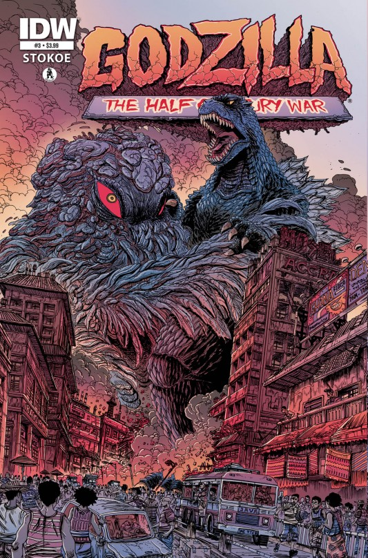 Godzilla: The Half Century War #3 by James Stokoe