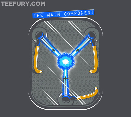 Back To The Future The Main Component Shirt