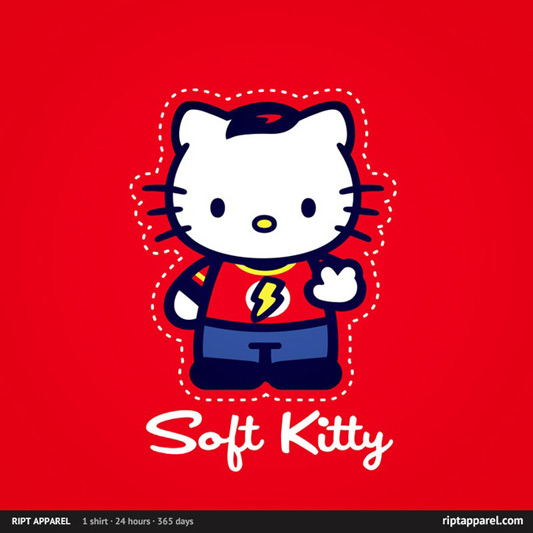 The Big Bang Theory Soft Kitty Shirt