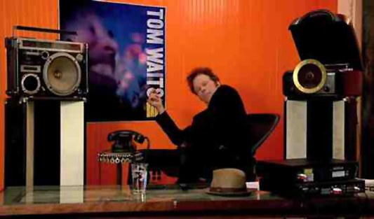Tom Waits listening party
