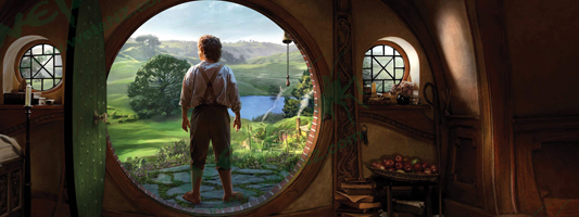 THE HOBBIT An Unexpected Journey Art Print Weta