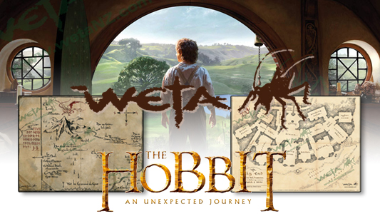 The Hobbit art print giveaway banner