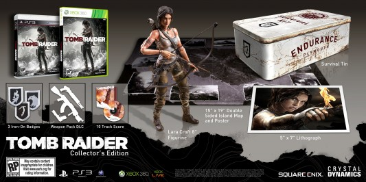Tomb Raider Collector's Edition Image
