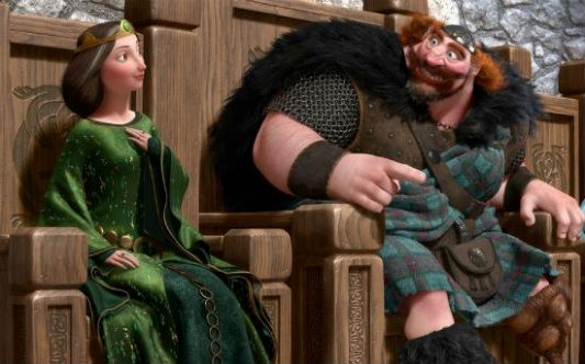 Queen Elinor and King Fergus